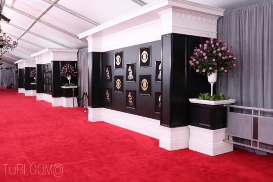 第60回グラミー賞 授賞式の会場装飾にサントリーフラワーズのお花が使われました!