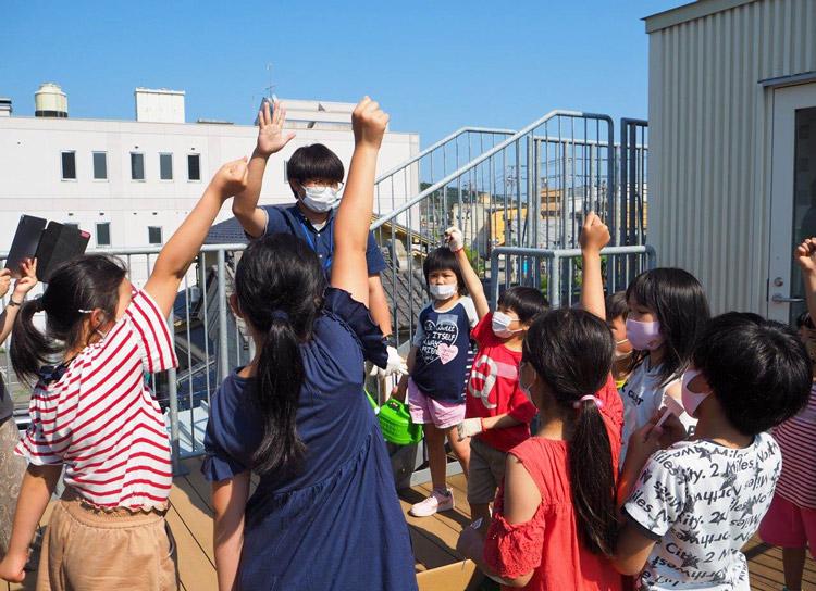 宮城県「石巻市子どもセンター らいつ」さんにてサントリーフラワーズによる本気野菜ワークショップを実施しました。